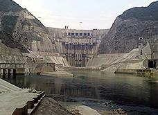 构皮滩水电zhan